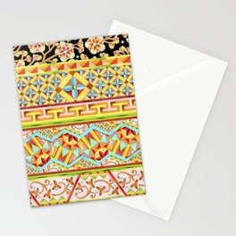 Gypsy Boho Stripe Stationery Cards