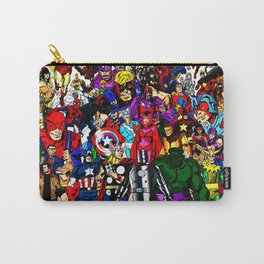 super hero all anime Carry-All Pouch