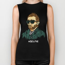 Van Gogh: Master of the #Selfie Biker Tank