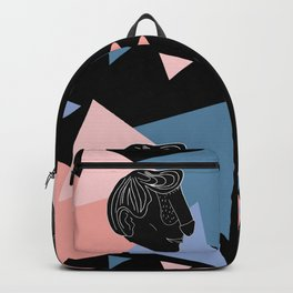 Dface Pattern Backpack