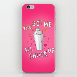 You Got Me All Shook Up iPhone Skin