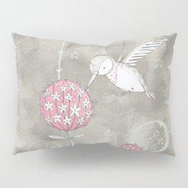 Hummingbird's Garden: Amongst the wild flowers Pillow Sham