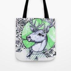 Deer in Dress Code  Tote Bag