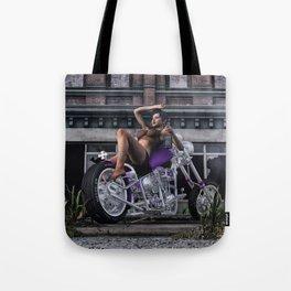The Biker Hussy 5 Tote Bag