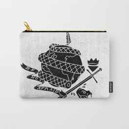 Be Not Afraid In This World Carry-All Pouch