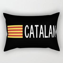 Catalunya: Catalan Flag & Catalan Rectangular Pillow