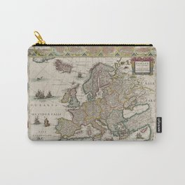 Europe 1644 Carry-All Pouch
