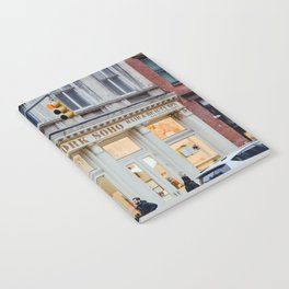 Corner street in Soho New York, USA | Architecture photography | Streets of New York City | Fine art wanderlust Notebook