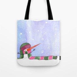Snowmn christmas Tote Bag