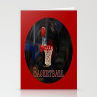 basketball Stationery Cards featuring Basketball by LoRo  Art & Pictures