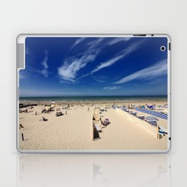 On the beach, blue sky Laptop & iPad Skin