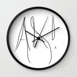 Ah ! Wall Clock