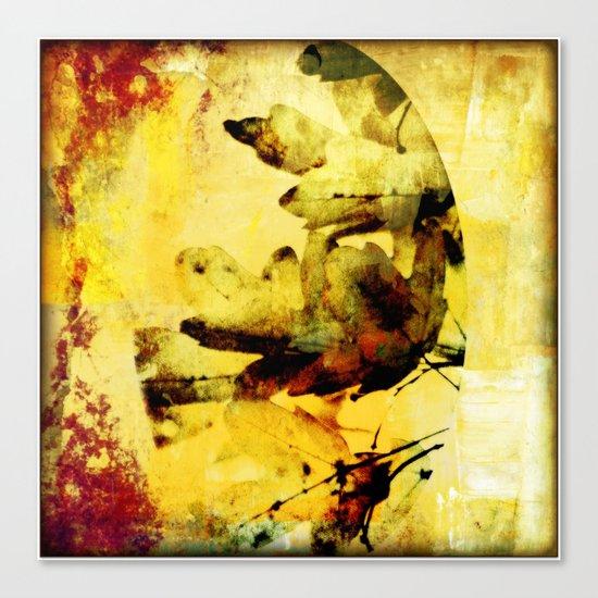 Burned colors Canvas Print