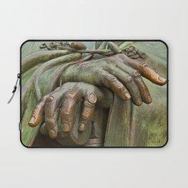 Hands of Wisdom Laptop Sleeve