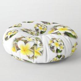 Frangipani Floor Pillow