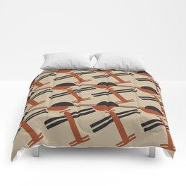 soviet pattern - constructivism Comforters