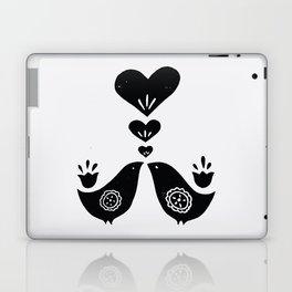 Scandinavian Love Birds Laptop & iPad Skin