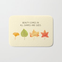 Autumn inspiration Bath Mat
