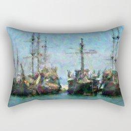 Buccaneers Rectangular Pillow