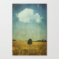 alone Canvas Prints featuring aLone by Dirk Wuestenhagen Imagery