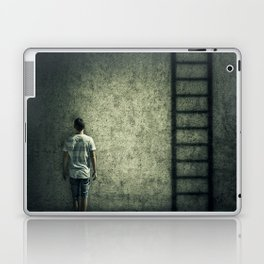 imaginary stairway escape Laptop & iPad Skin