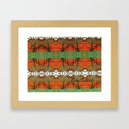 Australica Tribal Print Framed Art Print