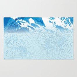Mt. Alyeska Alaska Rug