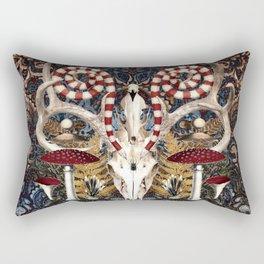 The Woods Are Full Of Secrets Rectangular Pillow