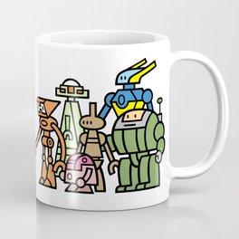 Toru meets the Robots Coffee Mug