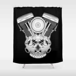 Motor Mind Shower Curtain