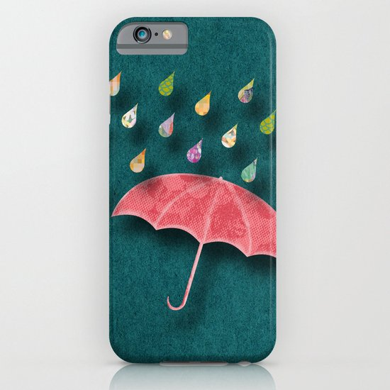 It's raining, it's pouring iPhone & iPod Case