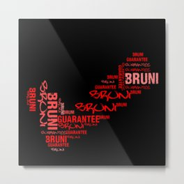 Bruni Guarantee Metal Print