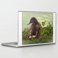 duck Laptop & iPad Skins featuring duck by aune
