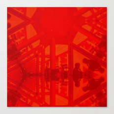 BoxHill-Red Canvas Print