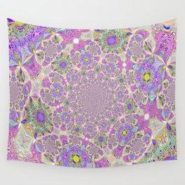 Pretty Lavender Garden Wall Tapestry