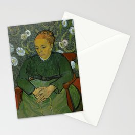 La Berceuse (Portrait of Madame Roulin) Stationery Cards