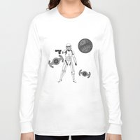 storm trooper Long Sleeve T-shirts featuring storm trooper by Agentsassy