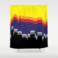 colorado Shower Curtains featuring ColoRADo by Sierra LaFrance