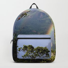 Rainbow Through the Rain: Kauai, Hawaii Backpack