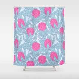 King Protea Shower Curtain