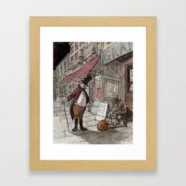 The Gift (color) Framed Art Print