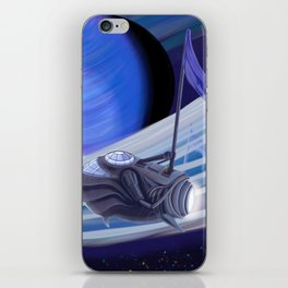Through Space and Sound iPhone Skin