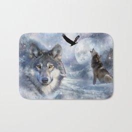 Wolves Bath Mat