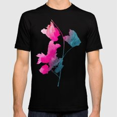 Maple_Watercolor 1 by Jacqueline & Garima Mens Fitted Tee SMALL Black