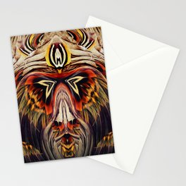 Mystik Monkey  Stationery Cards