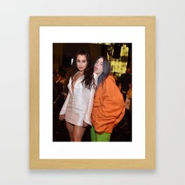 Lauren and Billie Framed Art Print