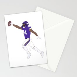 Stefon Diggs Catch American Football NFL Stationery Cards
