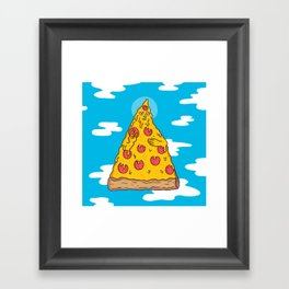 Pizza Be With You Framed Art Print