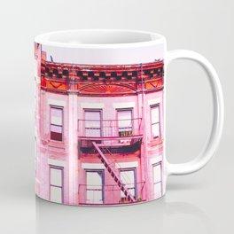New York City Pink Buildings Coffee Mug