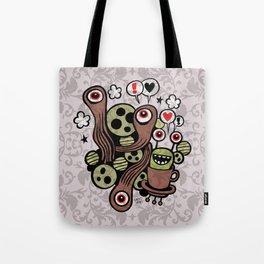 COSMIC LOVE ZONE Tote Bag